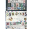 Spain 300 stamps