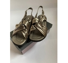 Trueform Sandals Metallic Size: 7