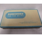 Vintage Set of Dominoes for the Blind