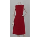 Luciano Barbera Fitted Sleevless Dress Cerise Pink Size: 10
