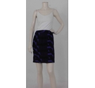 Versace Pencil Skirt Purple Size: 14