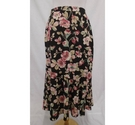 Eastex Floral Skirt Black/Pink Size: 14