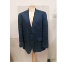 Marks and Spencer Linen jacket Mid blue Size: M