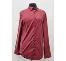 M&S Slim with Stretch Shirt Red Size: S