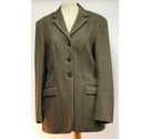 Foxley Jacket Vintage Ladies Wool Tweed Size: S
