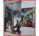 Five adult comics. Artifacts. Skizz. Grendel.