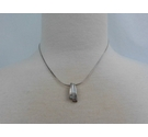 Sterling Silver 925 Snake Chain and Pendant