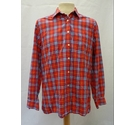 Burberry Shirt Red Checked Size: M
