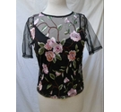 New Look BNWT Sheer Top and Vest Multicoloured Size: 10