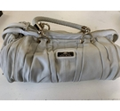 River Island Slouch Handbag Pale Grey Size: One size