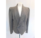 Label Lab Wool Mix Smart Structured Jacket Grey Size: 16