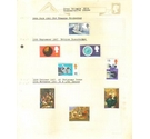 Great Britain Commemorative Issues 4 sheets hinge mounted