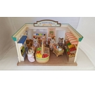 Sylvanian Families Supermarket With Cat Family