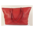 Jaeger Leather Handbag Red Size: One size