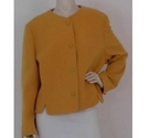 Compliments Wool Jacket Yellow Size: L