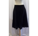 M&S Marks & Spencer Calf length skirt Black Size: 8