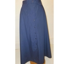 Rohan button-through skirt blue Size: 12
