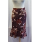 Fenn Wright Manson Silk skirt Brown Size: M