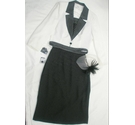 Condici Wedding/Occasion Outfit Black & White Size: 12