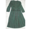 Windsmoor Ladys Kilt Suit Green,Navy&Gold Size: 12