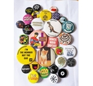 Vintage lot of 90's and 2000's badges