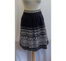 Noa Noa Patterned skirt Black Size: M