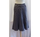 Per Una Denim Skirt Grey Size: 8