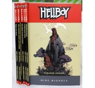 'Hellboy' series (set of 5 graphic novels) by Mike Mignola