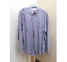 M&S Checked long sleeved shirt Mulcoloured Size: M