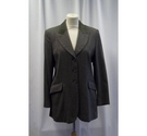 Penny Black Fitted Jacket Green Size: 14