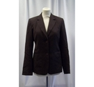 Country Road Fitted jacket Brown Size: 8