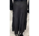 Monsoon long skirt black Size: 12