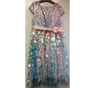 Monsoon BNWT Mermaid Sequin Dress Pink Size: 7 - 8 Years