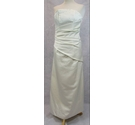 Forever Yours strapless evening dress ivory Size: S