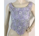 Black Orchid Lilac Floral Embroidered Bodice Size 14yrs