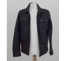 Tom Wolfe Leather bomber jacket Dark brown Size: S