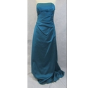 Alfred Angelo strapless evening dress turquoise Size: 12