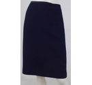Hobbs Knee-Length Skirt Navy Blue Size: 14