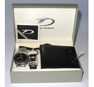 Time Design Boxed watch and wallet set in Black Size: L