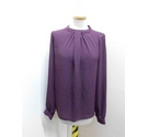 Dorothy Perkins Top Burgundy Size: 10