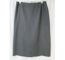 Dorothy Perkins Wool Blend Pencil Skirt Grey Size: 20