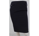 Karen Millen Pencil Knee-Length Skirt Black Size: 10