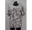 Florence and Fred Floral Top Multi Size: 18
