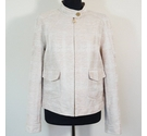 Tory Burch Ladies Smart Jacket Cream Size: 12