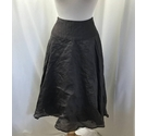 Mandolin Full A-line Skirt Metallic Brown Size: 14