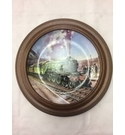 "Davenport ""The Flying Scotsman"" Limited Edition Decorative Plate Mounted in Van Hygan & Smythe Frame"