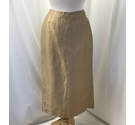 Kaliko Calf length skirt Beige Size: 12