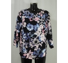 BNWOT M&S Classic Floral Top Multi Size: 12