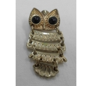 Articulated Owl Brooch