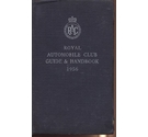The Royal Automobile Club Guide and Handbook 1956
